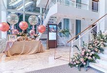 Whimscial Wedding at JW Marriott Singapore by Huahee