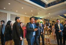 Shangrilla Hotel - Steven & Cressa Wedding by Impressions Wedding Organizer