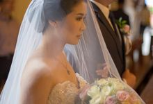 Shangrila Jakarta - Steven & Cressa Wedding day by Matteo Wedding Organizer