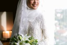 Atiah & Zaini Wedding in Johor Bahru, Malaysia by SVARNA by IKAT Indonesia Didiet Maulana