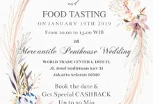 Food Tasting January by MERCANTILE PENTHOUSE WEDDING