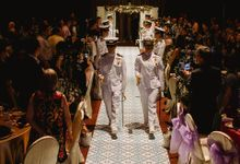 Printed Flooring for Wedding at Goodwood Park Hotel by WeddingFlor