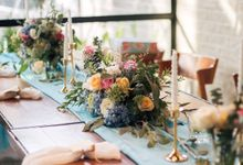 Table Setting Syeva Septiane Birthday by Botanical Wedding