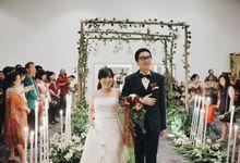 Wedding of Michael n Mega by Elina Wang Bridal