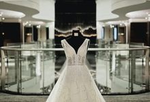 Hendrik & Virginia Wedding by Elina Wang Bridal