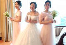 Wedding of Angga and Henny by Elina Wang Bridal