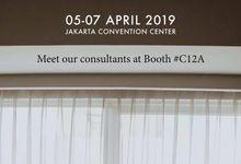 Pameran IIWF April 2019 di JCC Senayan Jakarta by Impressions Wedding Organizer