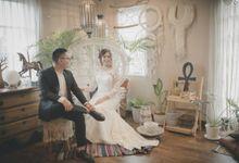 Prewed Dress by Elina Wang Bridal