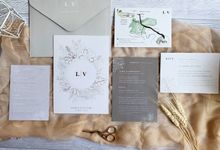 Grey Copper by Trouvaille Invitation