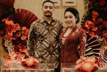 Sangjit of Hana & Adi by MERCANTILE PENTHOUSE WEDDING