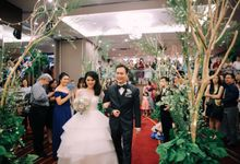Wedding of Siska & Gustav by Elina Wang Bridal