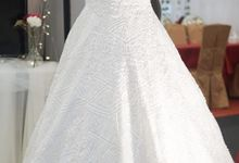 Full Sequin Aline Wedding Gown by iLook ( Makeup & Couture )