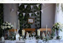 White Pearl Colour Theme by Yulika Florist & Decor