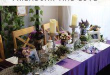 Rustic Purple by Yulika Florist & Decor