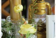 Yellow Glow by Yulika Florist & Decor