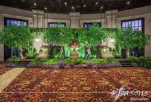 The Wedding of Rika & Kiky by 4Seasons Decoration
