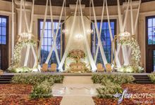 The Wedding of Bella & Ando by 4Seasons Decoration