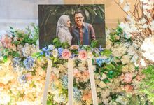 The Wedding of Sharrah & Farian by 4Seasons Decoration