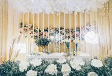 Felix & Jessica Wedding Decoration by Valentine Wedding Decoration