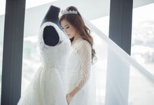 Morning Preparation for Jessica by Elina Wang Bridal