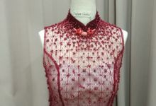 Red Qi Pao by iLook ( Makeup & Couture )