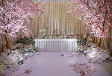 Hendrik & Andini Wedding Decoration by Valentine Wedding Decoration