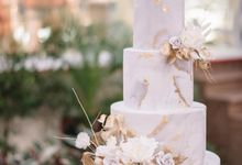 The Wedding of Wurika & Farhan by KAIA Cakes & Co.
