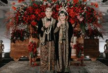 The Wedding of Fina & Thomi by Bloom Gift