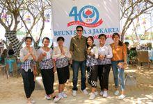 SMAN 3 JAKARTA 40years Reunion by KEKEB by Anika