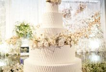 The Wedding of Kenny & Michelle by KAIA Cakes & Co.