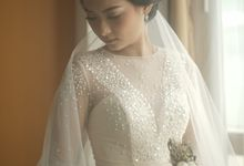 Gamma & Felicia Wedding Preparation by Elina Wang Bridal