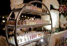 Wedding Reception at felfest Ui by PUSPA CATERING