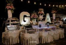 Wedding Reception at felfest Ui by PUSPA CATERING