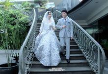 Ferry & Caroline Holy Matrimony by Elina Wang Bridal