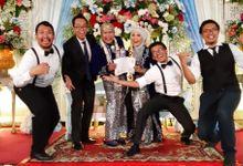 WEDDING ANTI &  RIFKI PUSPITEK  SERPONG TANGERANG SELATAN by Tanamusiq
