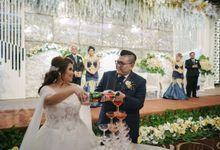 Mathias & Jossphine Wedding by Elina Wang Bridal