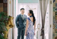 Vebri & Venni Prewedding by Elina Wang Bridal