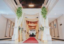Wedding Reception Of Mrs Sabrina & Mr Luthfi by PUSPA CATERING