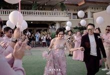 The Wedding of Astifa & Ketut by Decor Everywhere