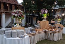 Wedding Reception by PUSPA CATERING