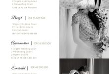 Our Pricelist by LOTA by Laurencia Lolita