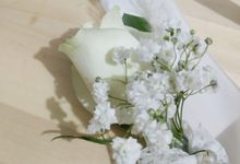 Brides Bouquet by Livina Florist