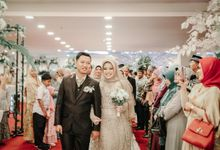 Wedding Ranika and Yusuf at Dkranjie Function Hall by Gina Catering and Wedding