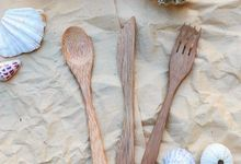 Bamboo cutlery by Nasa project