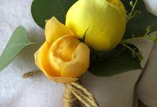 Corsage & Bountoniere by Pagi Florist