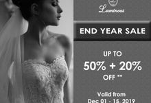 New Year Sale by Luminous Bridal Boutique