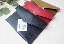 prada envelope for niken & ridzka by Gemilang Craft