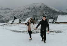 Prewedding of Lidya & Randy at Shirakawa-go by Warna Project