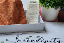 Artisan tea dengan pouch gunny by Serendipity Batik&Craft