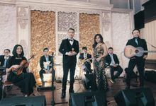 pernikahan yang telah dilaksanakan pada hari Minggu , 22 maret 2020 siang bertempatan di venue Dhanapala by Solala Orchestra Entertainment